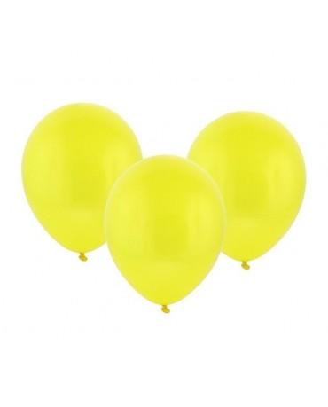 "Latexové balóny pastelové žlté 12"" 10ks"