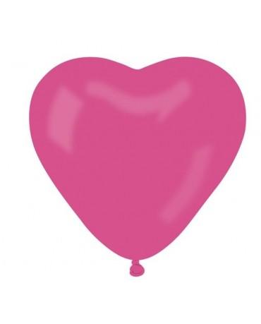 "Latexové balóny srdce- ružové 10"" 10ks"