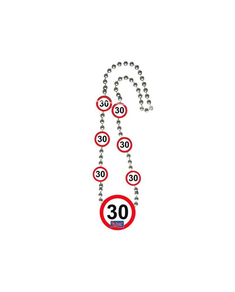 936cfb572 Náhrdelník 30 dopravná značka. Loading zoom