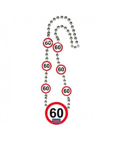 Náhrdelník 60 dopravná značka