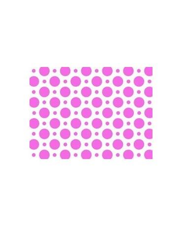 Obrus - ružové bodky 100x130cm