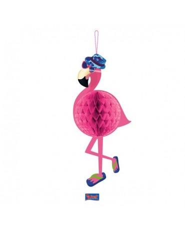 Pompón Flamingo 22x58cm