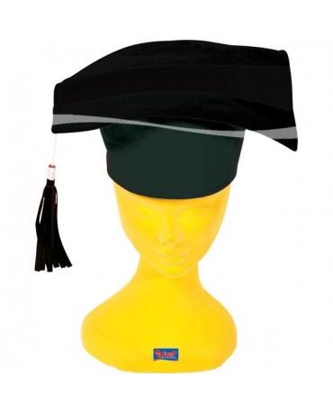 Promovacia čapica čierna