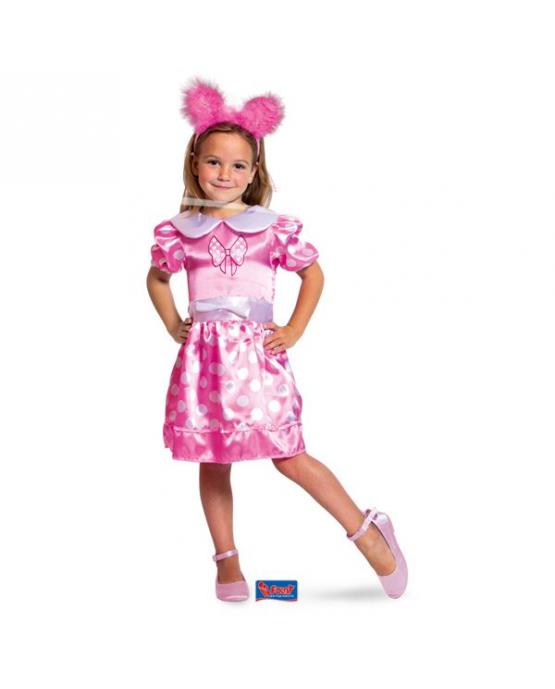Ružové šaty M