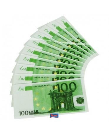 Servítky 100 € / 10ks