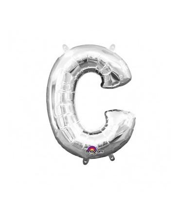 Fóliový balón - strieborné C 22x33cm