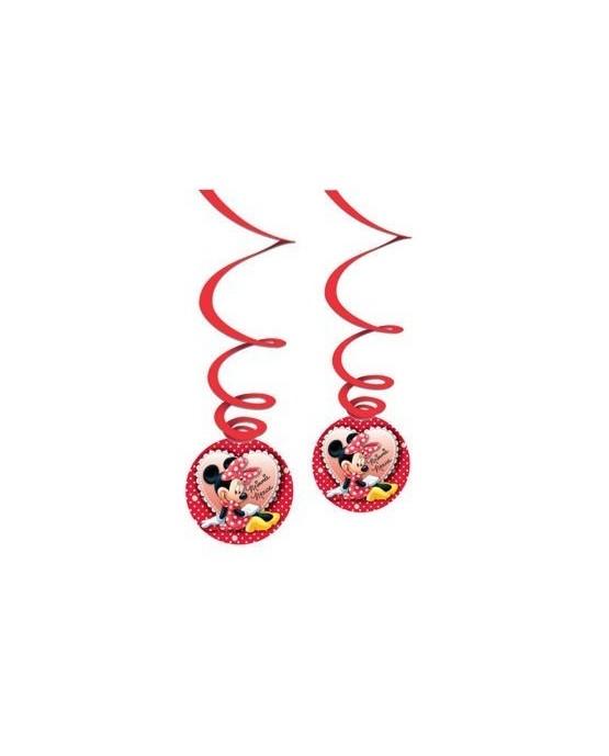 Špirály Minnie Mouse 3ks