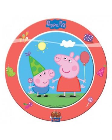 Tanieriky Peppa Pig 23 cm 8ks
