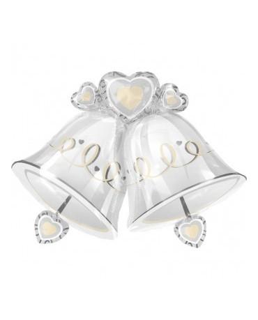 Fól. balón svadobné zvony   1ks