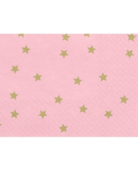 Servítky hviezdy 33x33cm