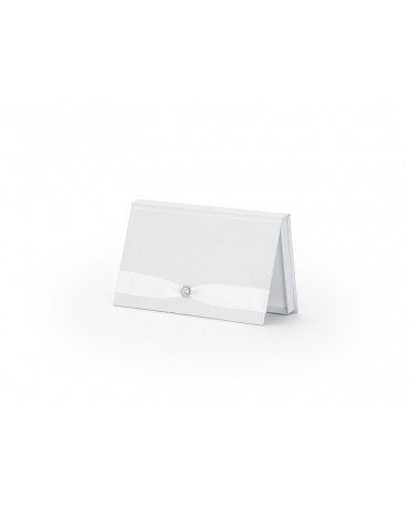 Krabička na peniaze - biela