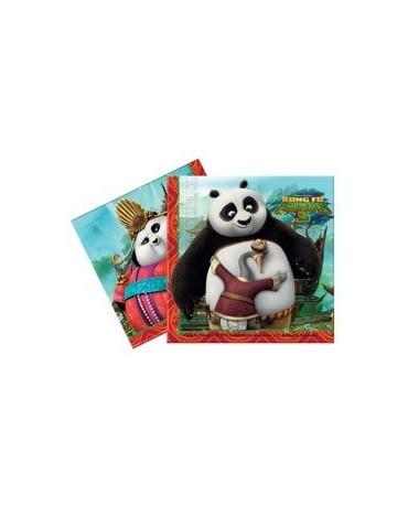 Servítky Kung Fu Panda 33cm 20ks