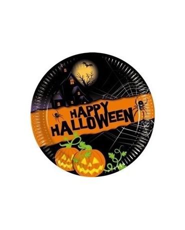 Tanieriky Halloween 20 cm - 8 ks