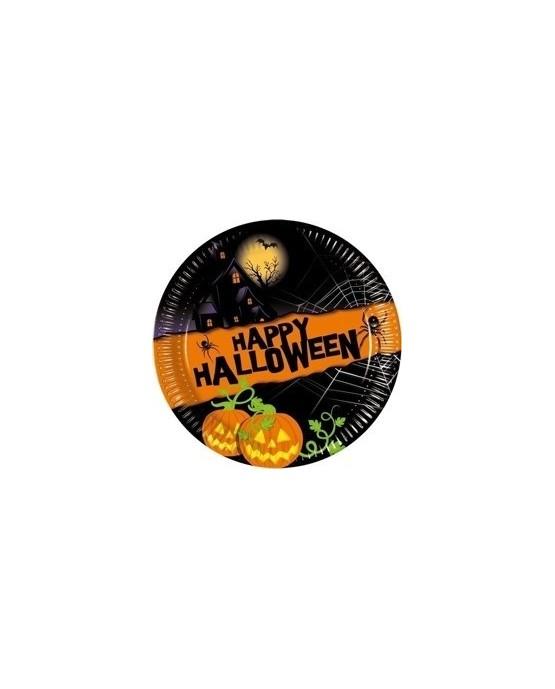 Tanieriky Happy Halloween 20 cm - 8 ks/P63