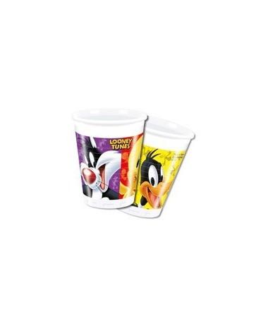 Poháre Looney Tunes 200ml - 8 kusov/P168