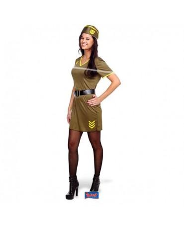 Kostým army dievča L/XL