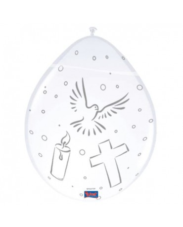 Balóny na prvé sväté príjmanie 8ks