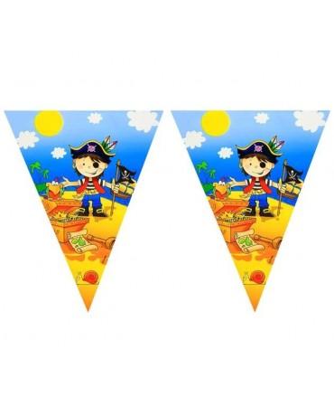 Banner vlajok-  Malí piráti 2