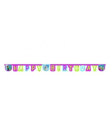 Banner Frozen - Happy Birthday 1ks