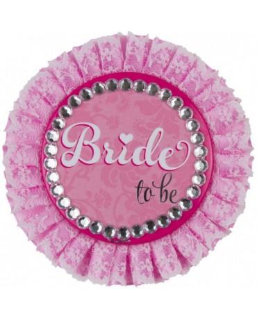 Luxusný odznak bride
