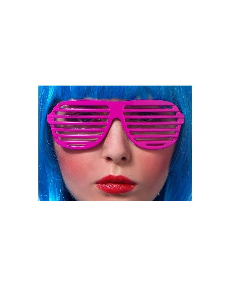 Okuliare - tmavoružové okenice 25d756626cf