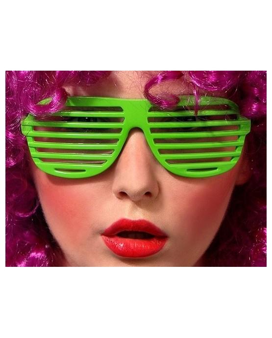 Okuliare - zelené okenice