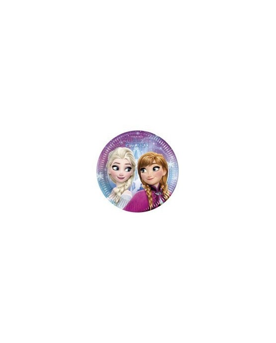 Tanieriky Ľadové kráľovstvo  20 cm - 8 ks