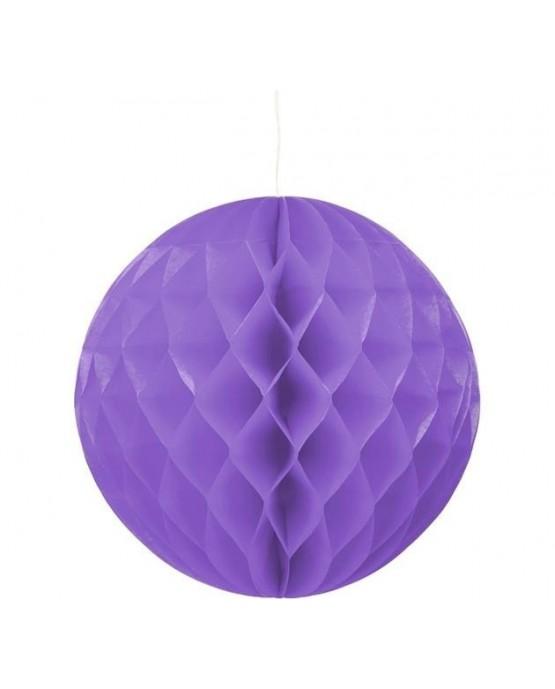 Papierová guľa- fialová 30cm