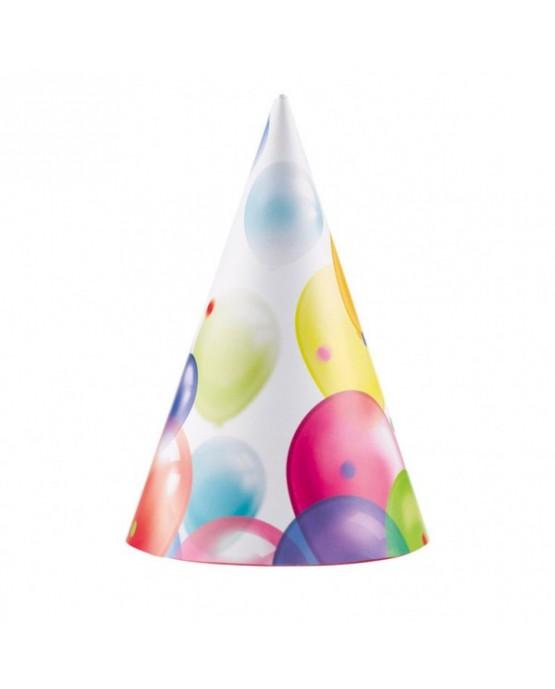 Klobúčiky Balóniky 8ks