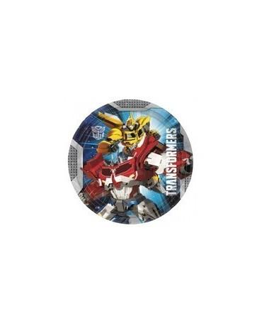 Tanieriky Transformers - 23 cm - 8 ks