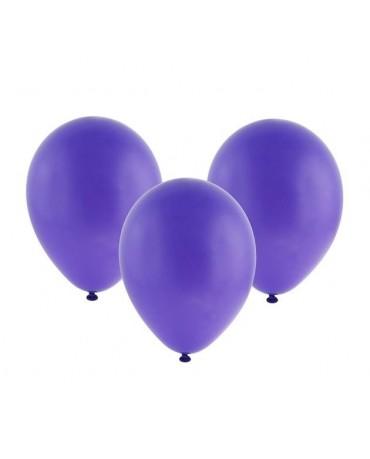 """Latexové balóny pastelové - fialové 12"""" 10ks"""