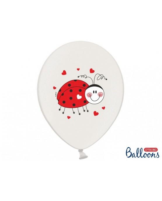 Latexové balóny Lienka 30cm 10ks