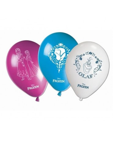 """Latexové balóny Ľadové kráľovstvo 11"""" 8ks"""