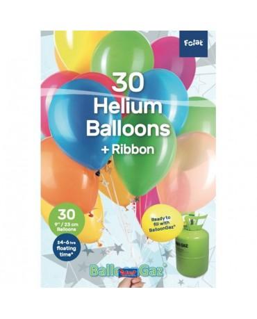 Latexové balóniky mix 9'' 30ks