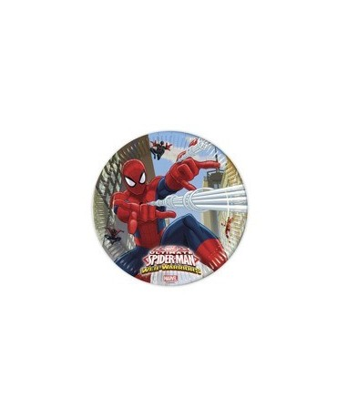 Tanieriky Spiderman- Web Warrior  23 cm 8 ks