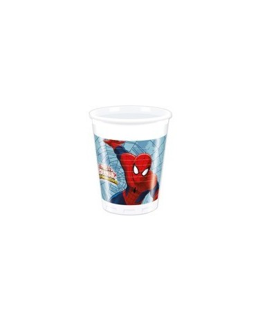 Poháre Spiderman- Web Warrior  200ml 8 ks