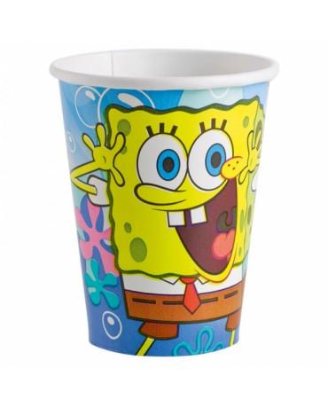 Poháre Spongebob  266 ml - 8 ks