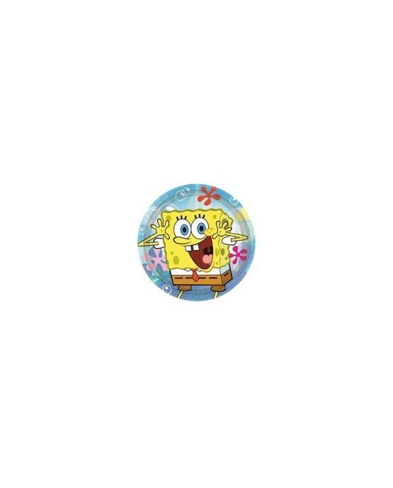 Tanieriky Spongebob 23 cm - 8 ks