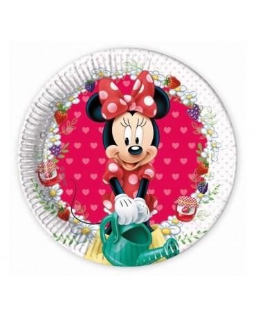 Tanieriky Minnie Mouse -Jam 20 cm - 8 ks