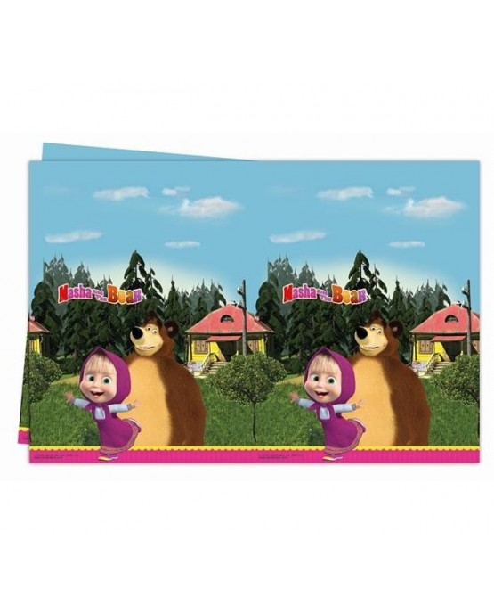 Obrus Máša a Medveď 120x180cm