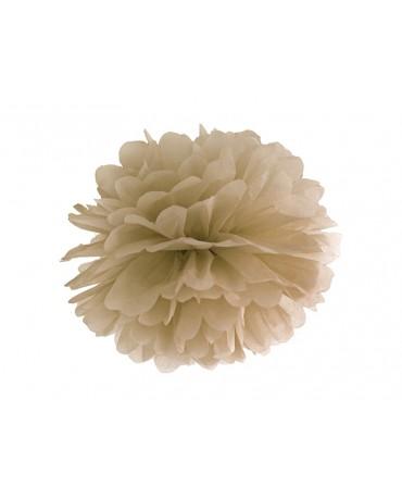 Pompón -karamelová farba 35cm