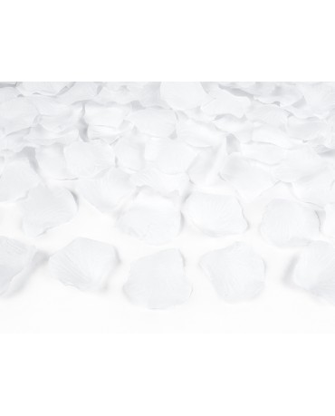 Lupene ruží -biele 100ks