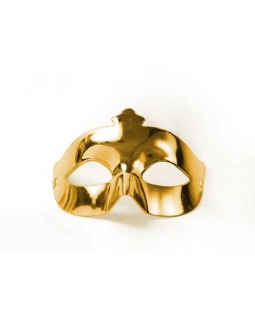 Benátska maska -zlatá