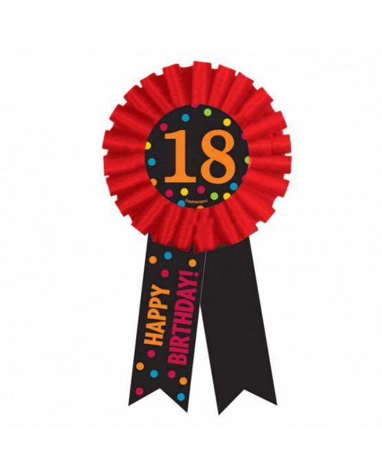 Brošňa Happy Birthday 18