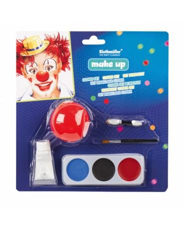 Farby na tvár - klaun