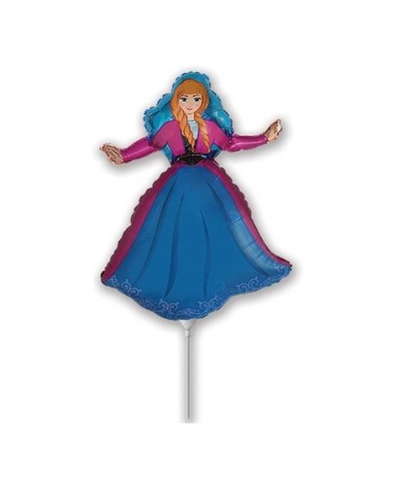 """Fóliový balón Anna- Frozen 14"""""""