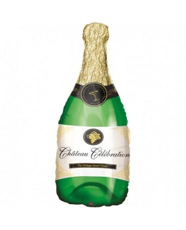Fóliový balón -fľaša šampanského