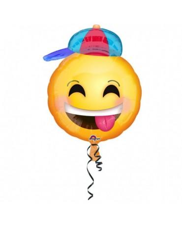 Fóliový balón Emotikon 43x50cm