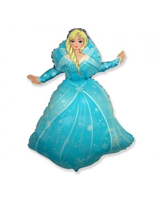 """Fóliový balón Ľadová kráľovná 24"""""""
