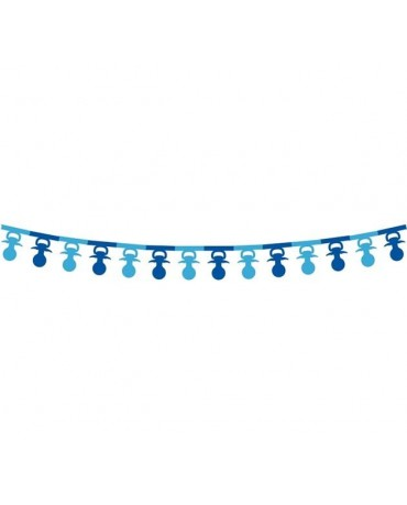 Girlanda cumlíky- modré 3,6m